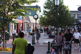 Stroll at your leisure along  Cape May's Shopping Mall