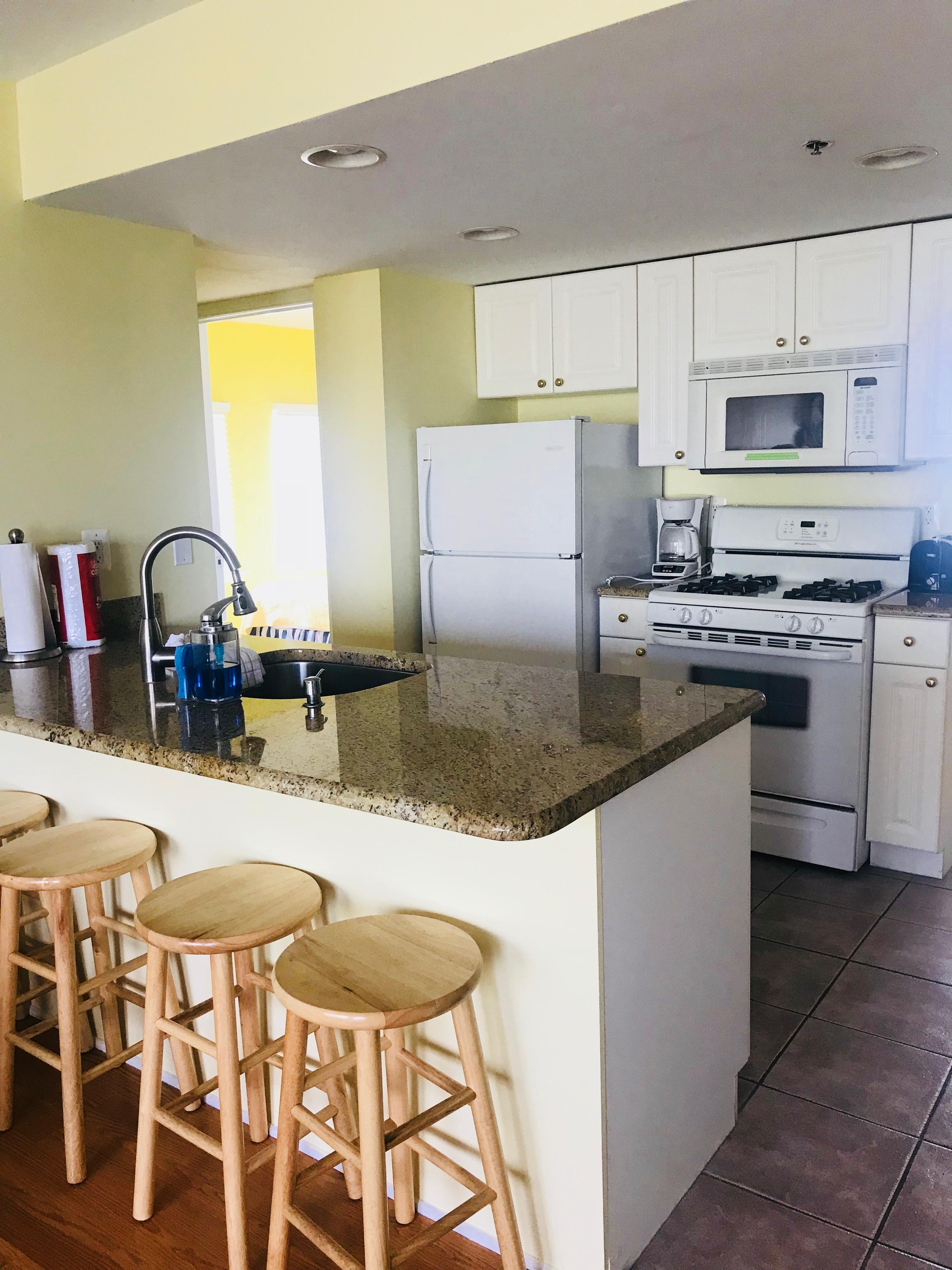Unit 400 kitchen area